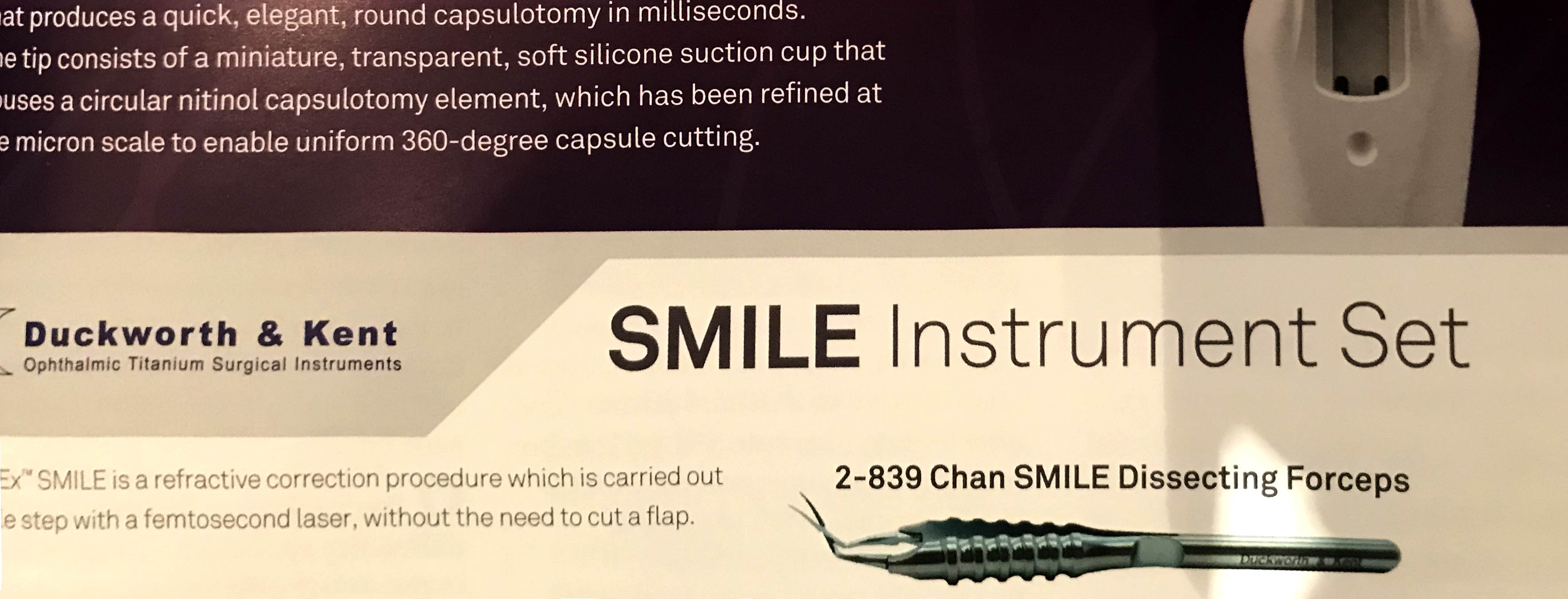 SMILE forcep ADS